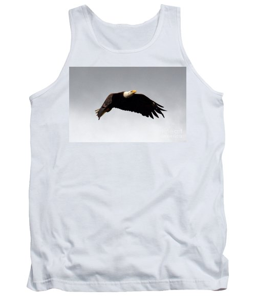 Tank Top featuring the photograph Majestic Flight by Polly Peacock
