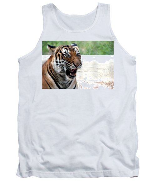 Tank Top featuring the photograph Make My Day by Kathy  White