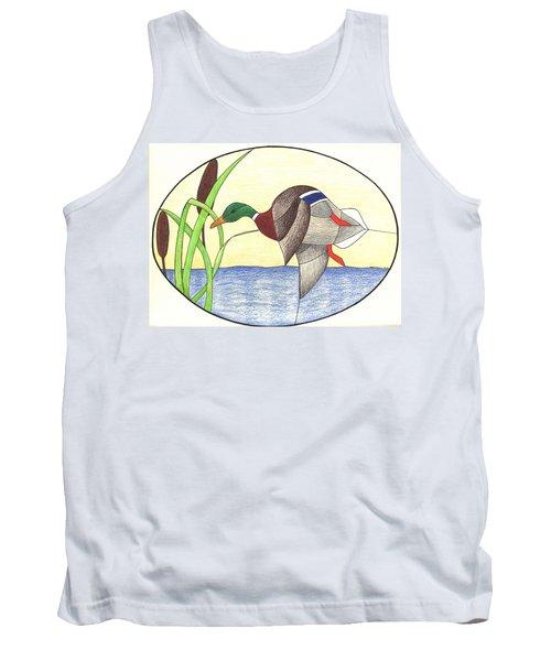 Mallard Duck Tank Top