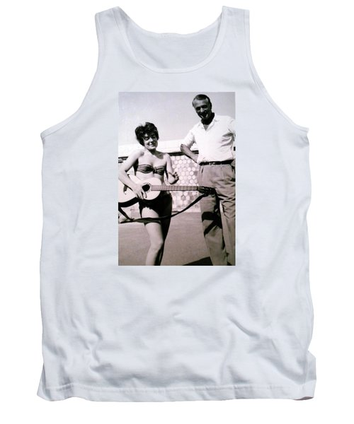 Mama Chris And Gary Cooper In Monte Carlo 1958 Tank Top