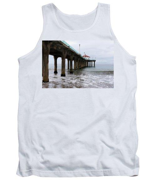 Manhattan Beach Pier Tank Top