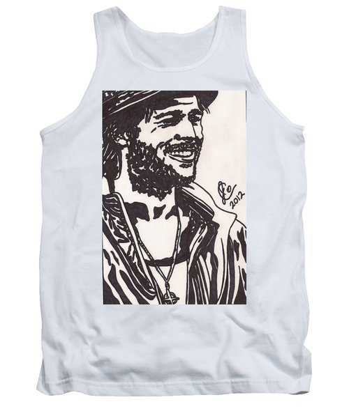 Tank Top featuring the drawing Mickey by Jeremiah Colley