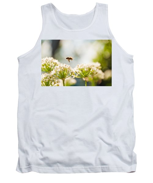 Tank Top featuring the photograph Mid-pollenation by Cheryl Baxter