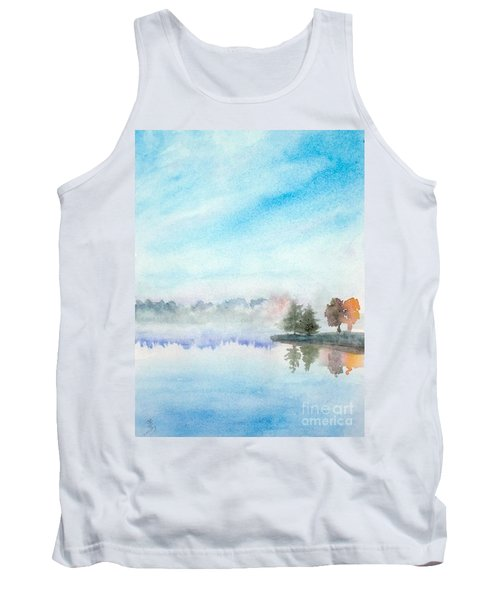 Misty Lake Tank Top by Yoshiko Mishina