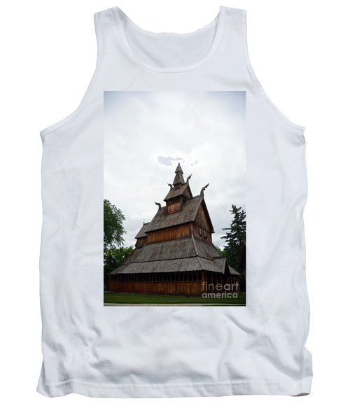 Moorhead Stave Church 26 Tank Top