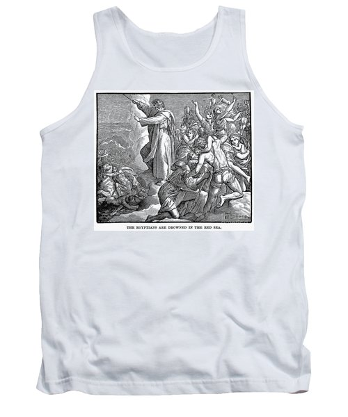 Moses And The Red Sea Tank Top