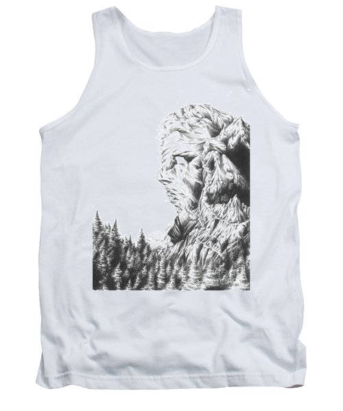 Mother Nature - Face Of The Earth Tank Top