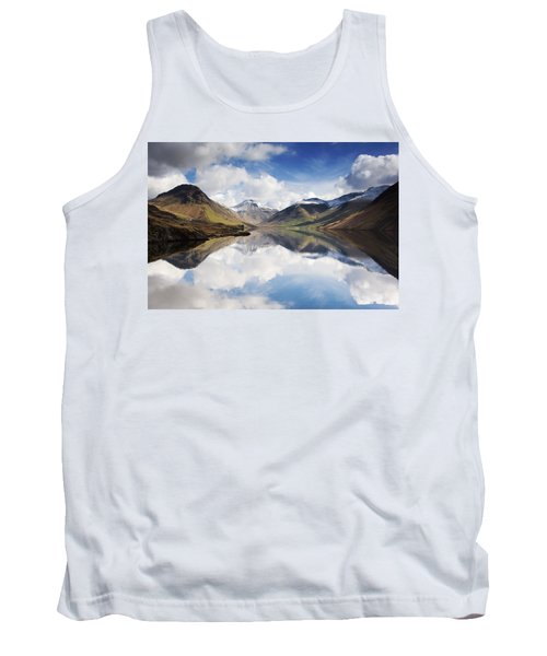 Mountains And Lake, Lake District Tank Top