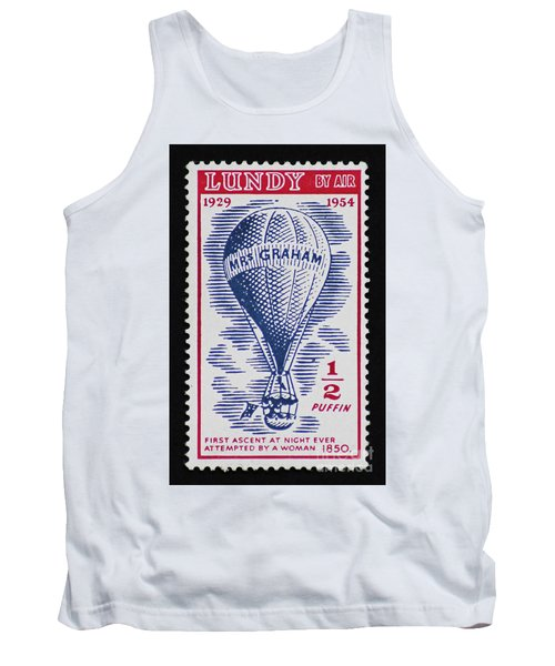 Tank Top featuring the photograph Mrs Graham The Balloonist by Andy Prendy