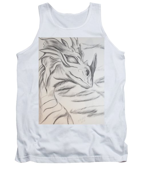 My Dragon Tank Top by Maria Urso