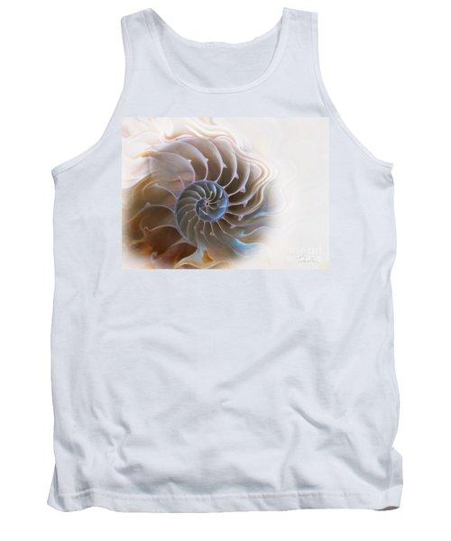 Natural Spiral Tank Top by Danuta Bennett
