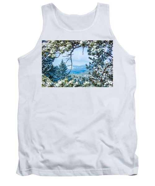 Tank Top featuring the photograph Natural Wreath by Shannon Harrington