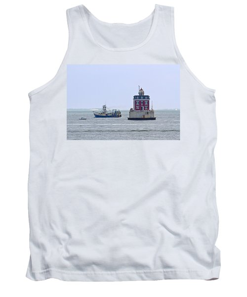New London Ledge Lighthouse. Tank Top