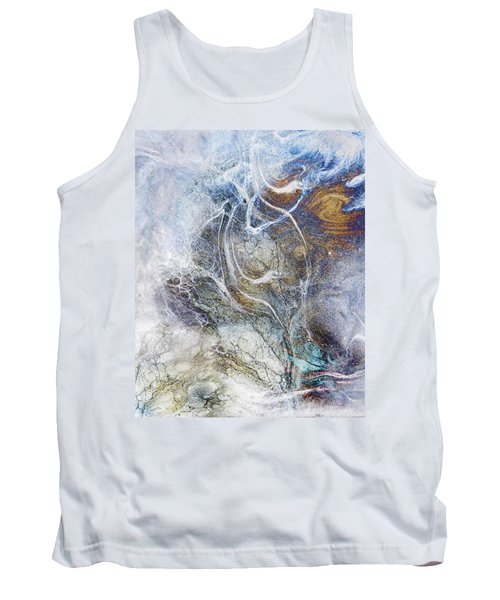 Night Blizzard Tank Top by Francesa Miller