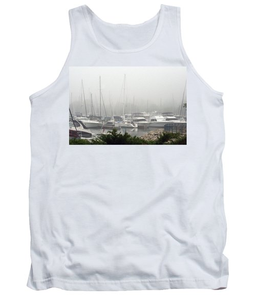 Tank Top featuring the photograph No Sailing Today by Kay Novy