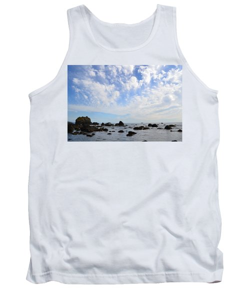 Northern California Coast1 Tank Top by Zawhaus Photography