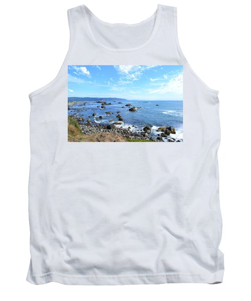 Northern California Coast3 Tank Top by Zawhaus Photography