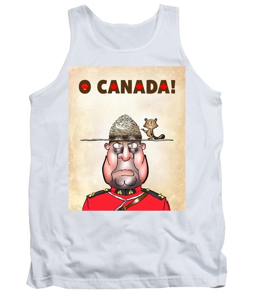 O Canada Tank Top