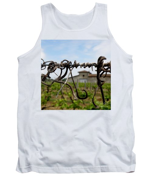 Tank Top featuring the photograph Old And New  by Lainie Wrightson