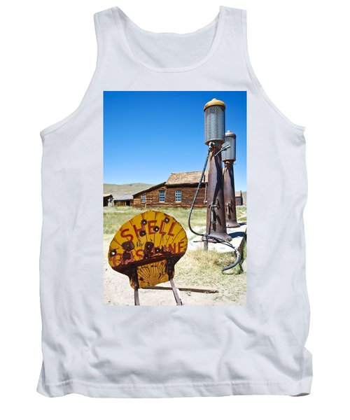 Old Gas Pumps Tank Top