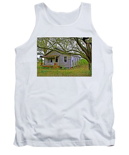 Old Gray House Tank Top by Judi Bagwell