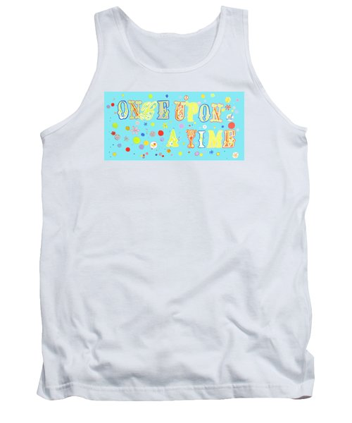 Tank Top featuring the painting Once Upon A Time by Beth Saffer