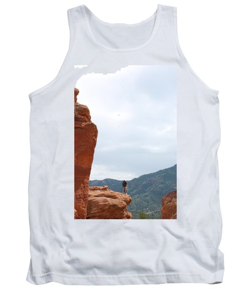 Only A Photographer Would Do.. Tank Top by Randy J Heath