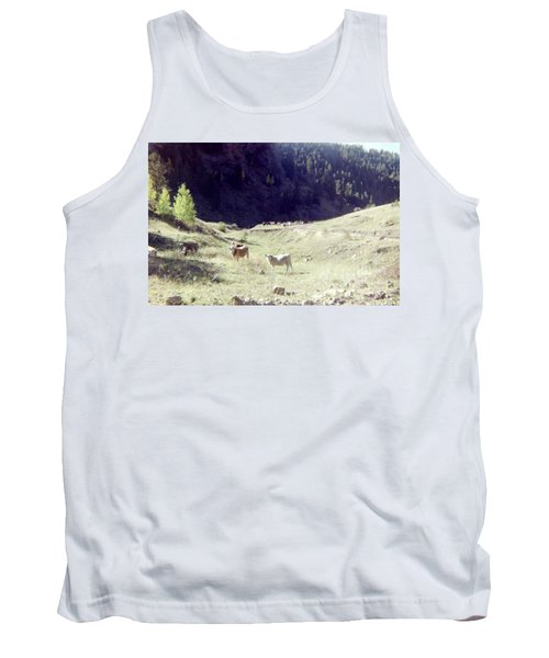 Tank Top featuring the photograph Open Range by Bonfire Photography
