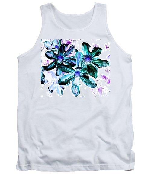 Organic Techno Flowers Tank Top