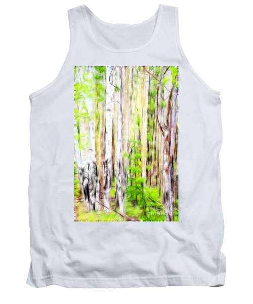 Out Of One Many Fractal Tank Top