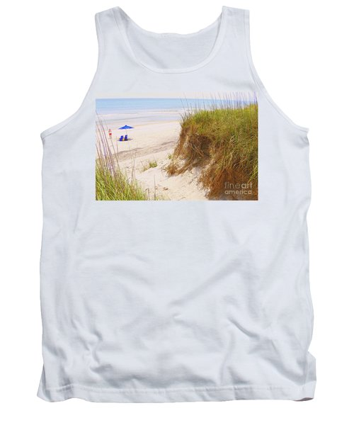 Tank Top featuring the photograph Outerbanks by Lydia Holly