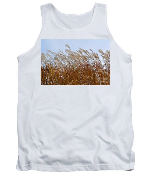 Pampas Grass In The Wind 1 Tank Top