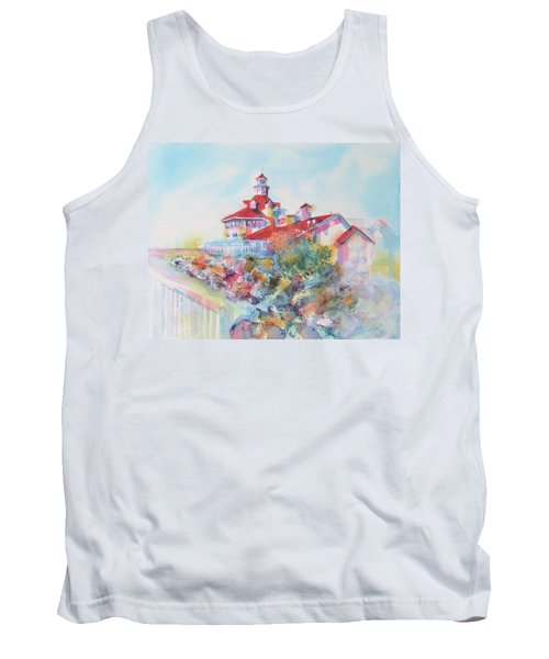 Party Time At Parker's Lighthouse Tank Top