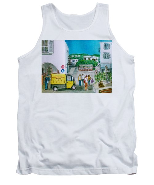 Patmos Fish Monger Tank Top by Frank Hunter