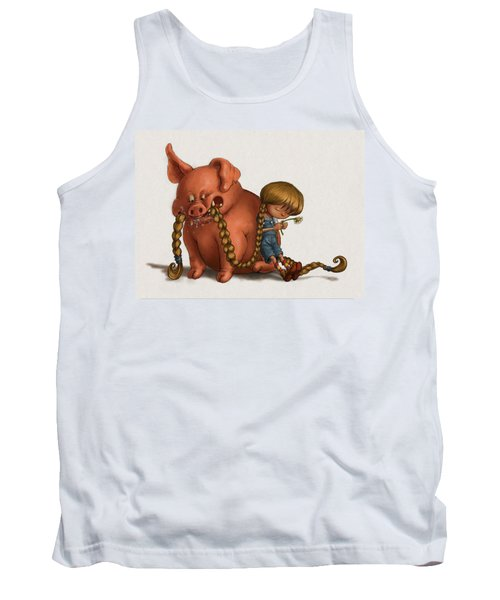 Pig Tales Chomp Tank Top