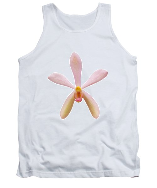 Pink Orchid Head Tank Top by Atiketta Sangasaeng