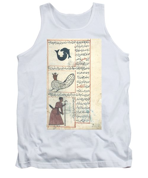Pisces And Orion, Zodiacal Tank Top