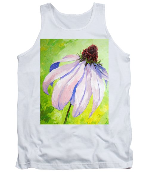 Purple Coneflower Tank Top