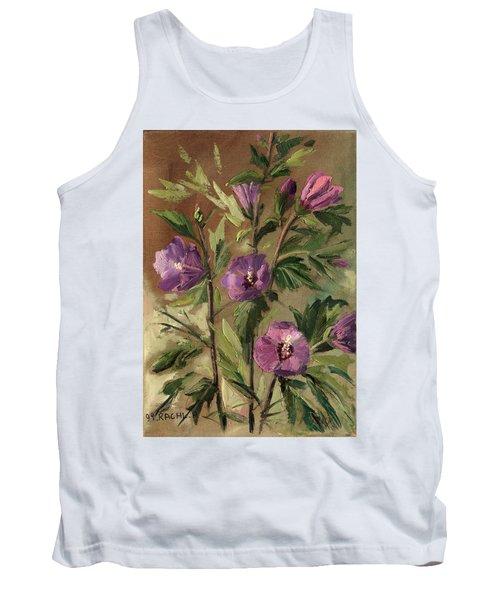 Purple Flowers 2 Tank Top