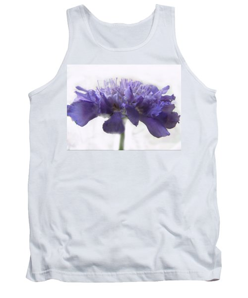 Tank Top featuring the photograph Purple Pincushin by Debbie Portwood
