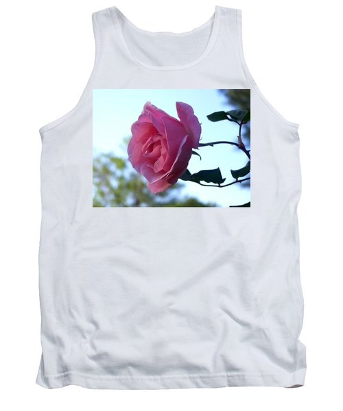 Tank Top featuring the photograph Reaching For Sunlight by Kathy  White