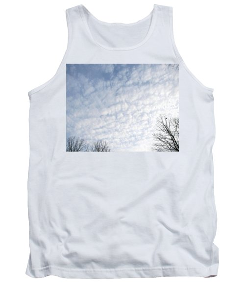 Tank Top featuring the photograph Reaching The Clouds by Pamela Hyde Wilson
