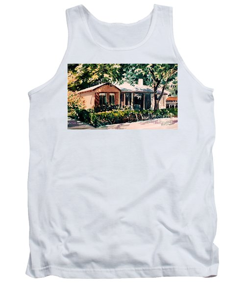Tank Top featuring the painting Redwood City #4 by Donald Maier