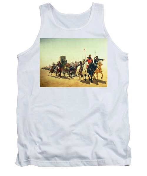 Richard Coeur De Lion On His Way To Jerusalem Tank Top