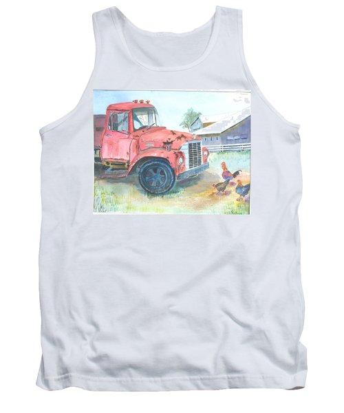 Rusty Truck Tank Top