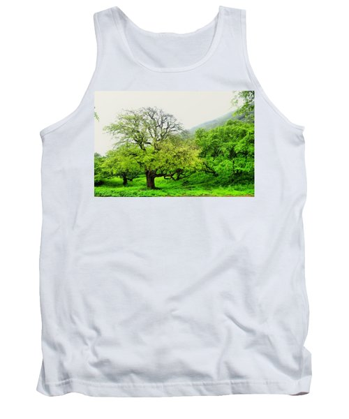 Salalah Green Tank Top