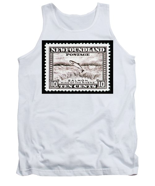 Tank Top featuring the photograph Salmon King Of The Rivers by Andy Prendy