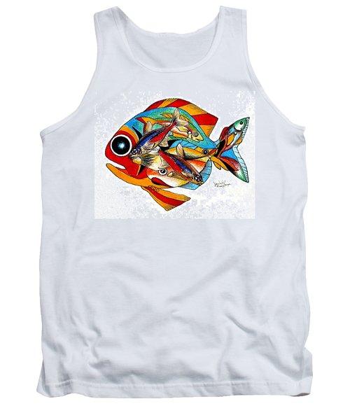 Seven Fish Tank Top