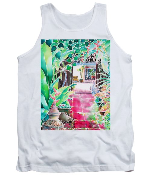 Shade In The Patio Tank Top