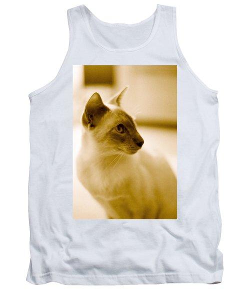 Siamese Feline Tank Top